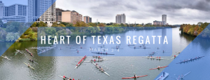 A picture of boats on the lake with the text Heart of Texas Regatta March 3-4